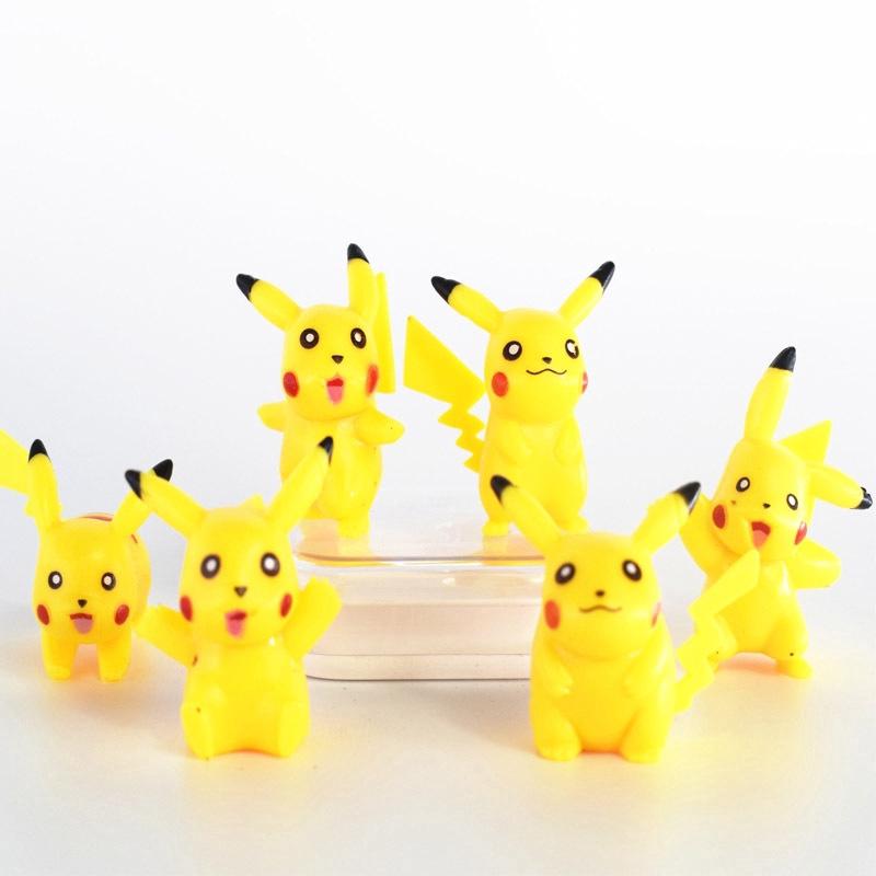 6 Một công chúa túi Pikachu tay DIY vườn hoang vi cảnh quan búp bê thịt