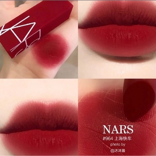 NARS – Son Thỏi Matte Lipstick BẢN GIỚI HẠN màu SHANGHAI EXPRESS