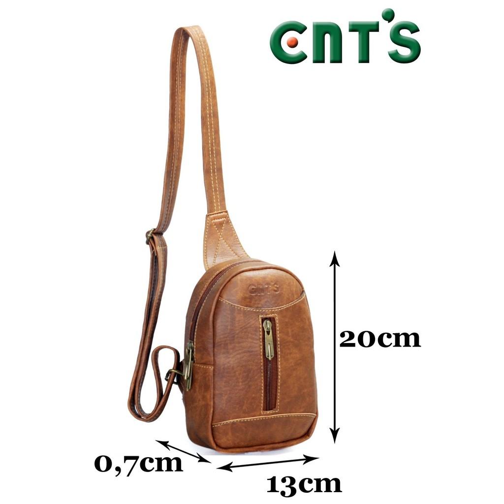 Túi đeo chéo unisex CNT MQ22 cá tính