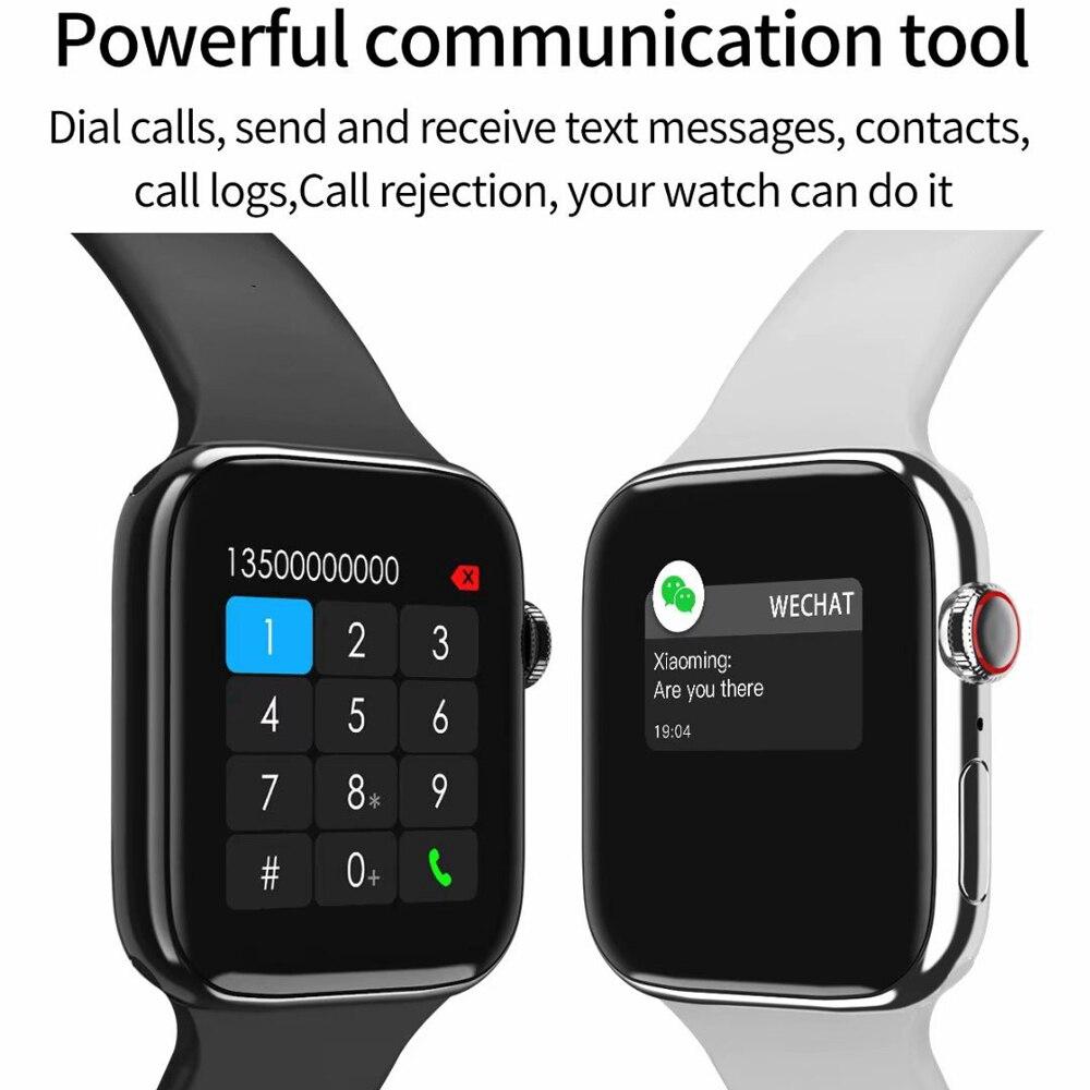 Đồng Hồ Thông Minh 5 Iwo 8 Kết Nối Bluetooth Chống Nước Hỗ Trợ Theo Dõi  Nhịp Tim Cho Android Iphone
