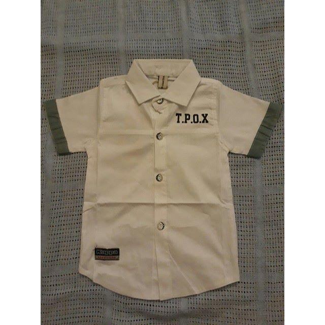 áo sơ mi bé trai 1 đến 5 tuổi