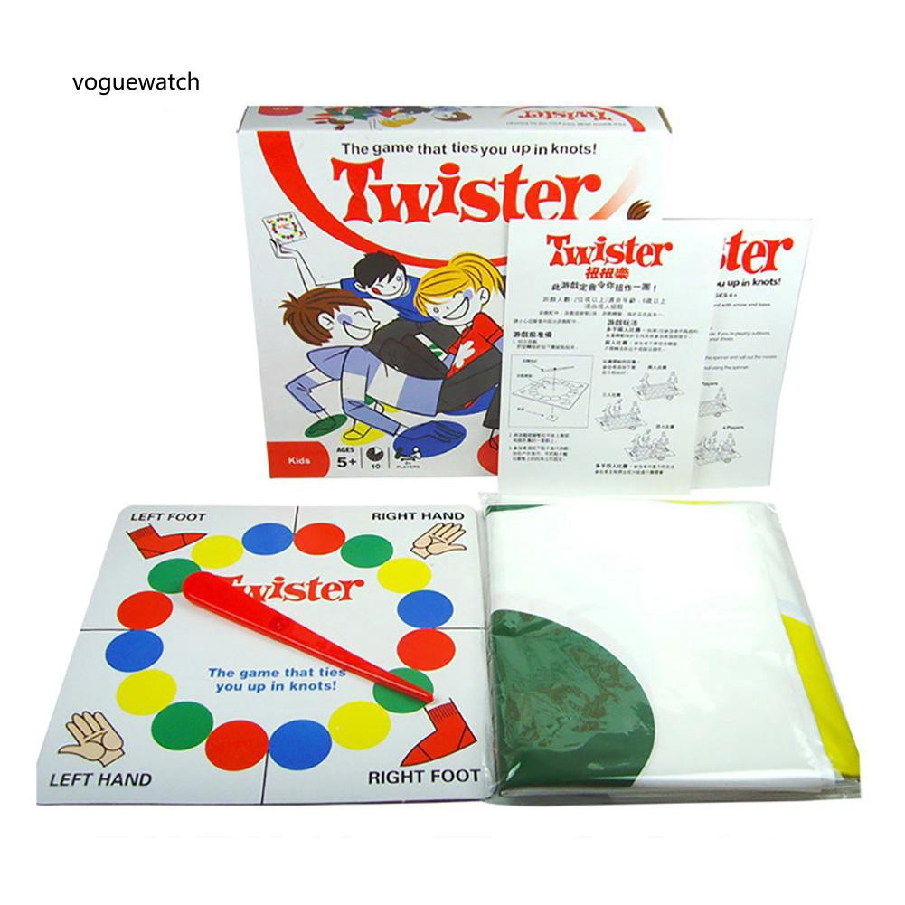 VGWT_Body Twister Game Outdoor Party Favor Family Kids Parents Interactive Mind Toy