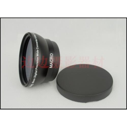 Chụp ảnh Awoww09 đặc biệt bán buôn 49mm 0,45 lần góc rộng bổ sung ống kính đen ống kính trước UV 62mm