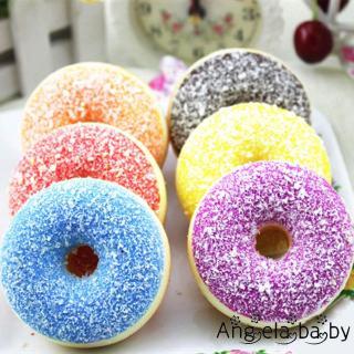 ⓗღ✯funny Squishy Slow Rising Soft Squeeze Stress Reliever Doughnut Scented Toys Hot