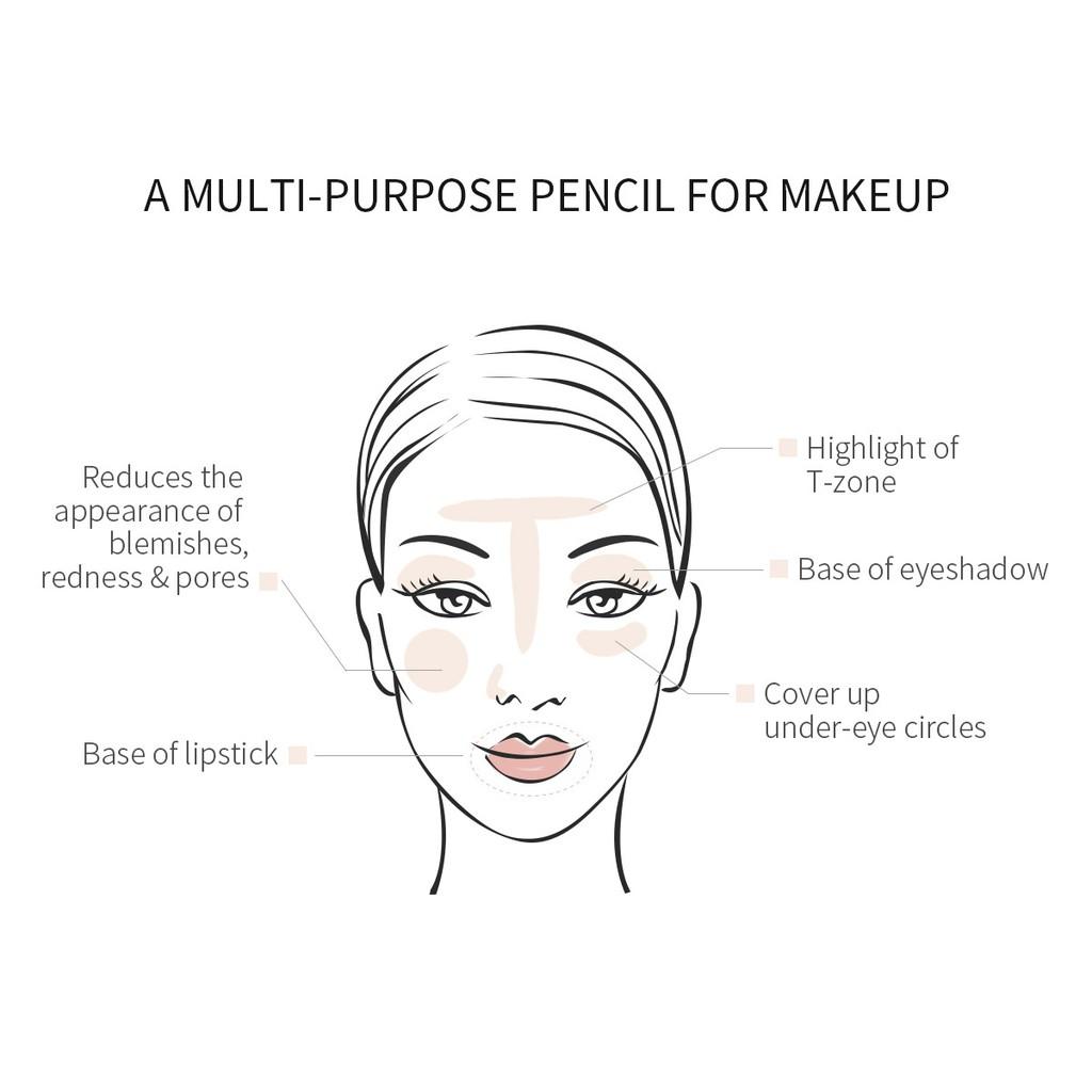 Bút Che Khuyết Điểm MeNow Chính Hãng - Fix Makeup Không Trôi Không Thấm Nước