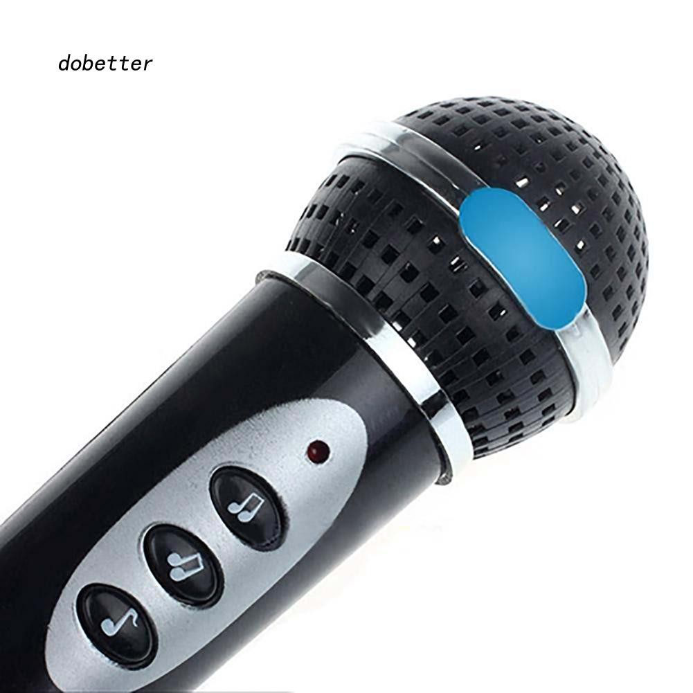 DOBT-Children Girls Boys Microphone Mic Karaoke Singing Kids Funny Music Toy Gift