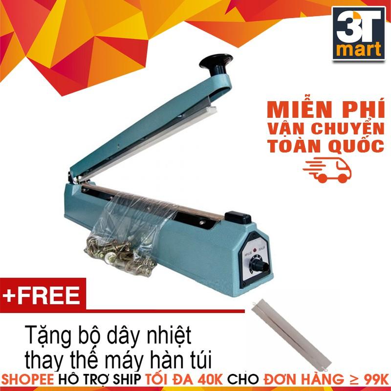 Máy hàn miệng túi nilon + Tặng Bộ dây nhiệt thay thế máy hàn túi - 2938059 , 265104638 , 322_265104638 , 249000 , May-han-mieng-tui-nilon-Tang-Bo-day-nhiet-thay-the-may-han-tui-322_265104638 , shopee.vn , Máy hàn miệng túi nilon + Tặng Bộ dây nhiệt thay thế máy hàn túi