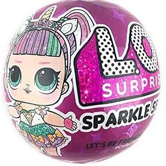 Đồ chơi L.O.L. Surprise! Sparkle Series with Glitter Finish and 7 Surprises hàng USA