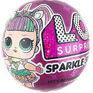 Đồ chơi L.O.L. Surprise! Sparkle Series with Glitter Finish and 7 Surprises hàng USA