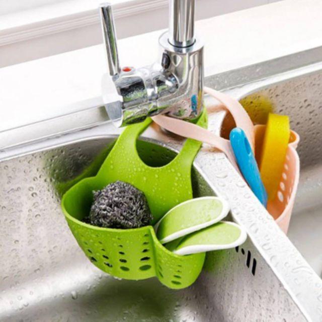 Giỏ đựng đồ rửa bát, rửa chén (Giao màu ngẫu nhiên)