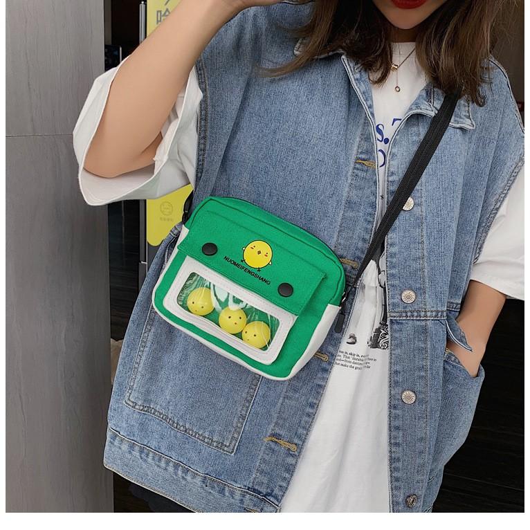 RẺ VÔ ĐỊCH - Túi đeo chéo gà con siêu dễ thương Style Korea Nữ