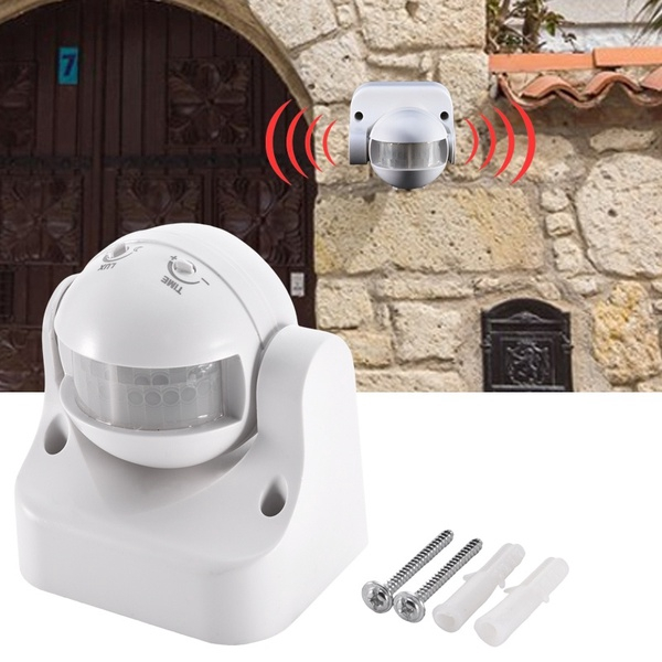 Outdoor PIR Motion Movement Sensor Detector Switch For Security Lighting NEW