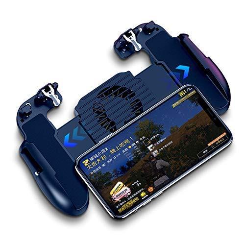 Tay cầm chơi game PUBG có quạt tản nhiệt cho điện th
