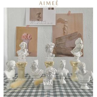 Tượng Hy Lạp giả thạch cao trang trí phong cách vintage size mini – Aimee.decor