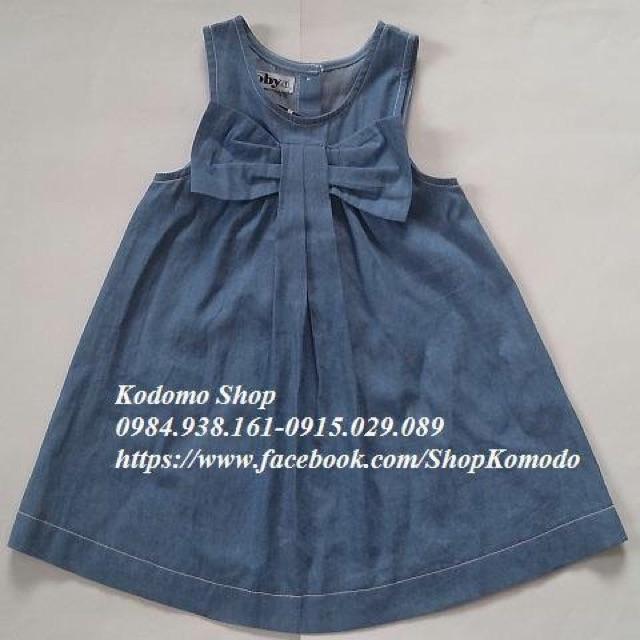 Váy bò Toby CÓ nơ