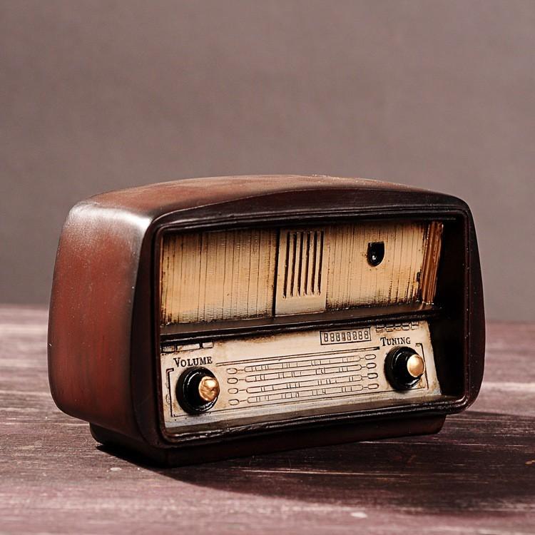 Mô hình đài Radio Vintage | Shopee Việt Nam