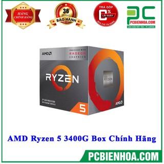 [Mã 267ELSALE1 giảm 5% đơn 3TR] AMD RYZEN 5 3400G /6MB /3.7GHZ /4 NHÂN 8 LUỒNG