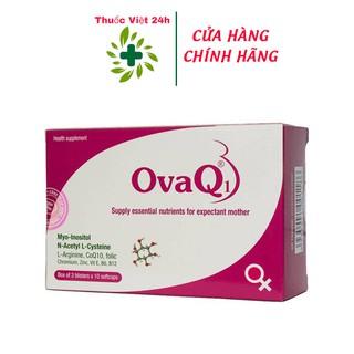OvaQ1 Bổ sung các dưỡng chất cần thiết để hỗ trợ sinh sản cho nữ giới. OvaQ1 tăng khả năng thụ thai