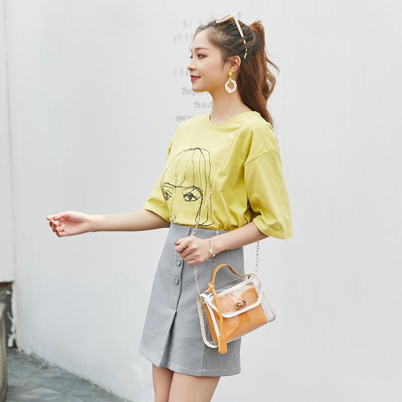 Túi xách nữ đeo chéo mini Hàn Quốc siêu xinh DC04 túi đeo vai