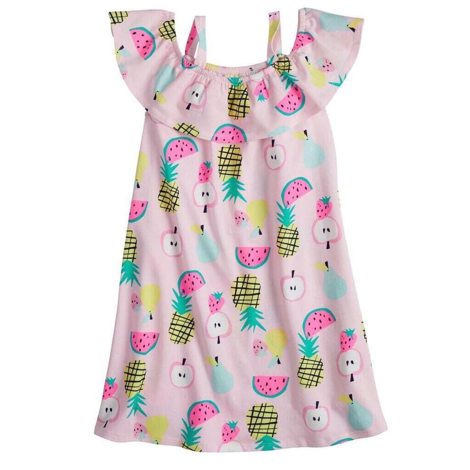 Váy Đầm Cotton Bé gái Jumping bean Việt nam xuất khẩu dư xịn