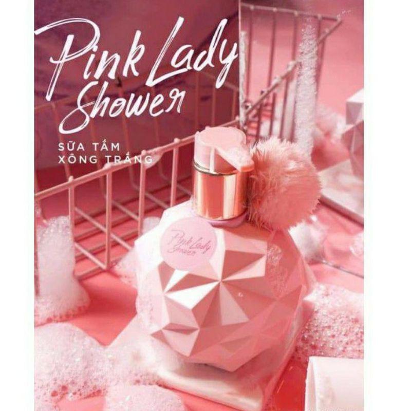Sữa Tắm Xông Trắng Pink Lady Shower Siêu Trắng Da