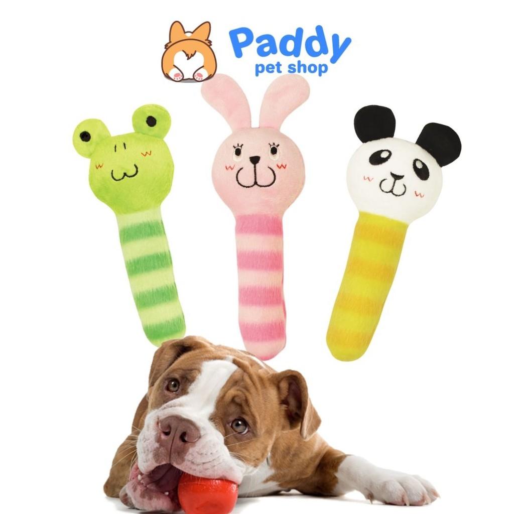 Que nhồi bông hình thú đồ chơi cho chó DoggyMan