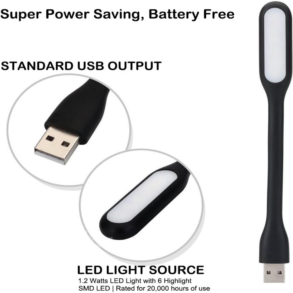 Mini USB LED Light Lamp Adjustable Reading Night Light Computer Keyboard Light for Laptop Reading Lamp Portable Light