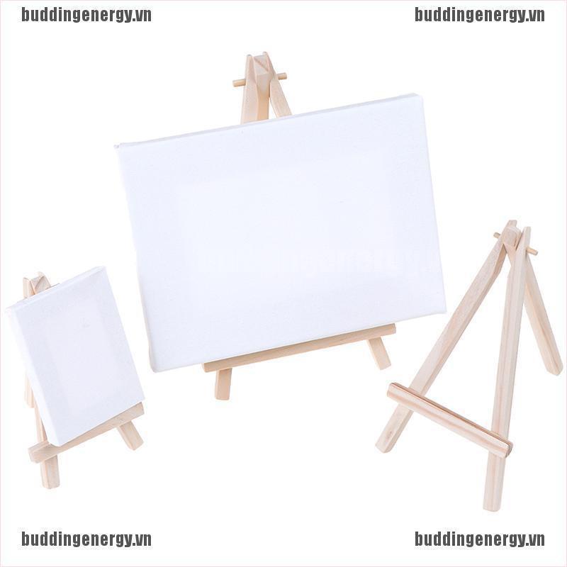 Giá đỡ gỗ 3 chân mini dùng trưng bày tranh canvas