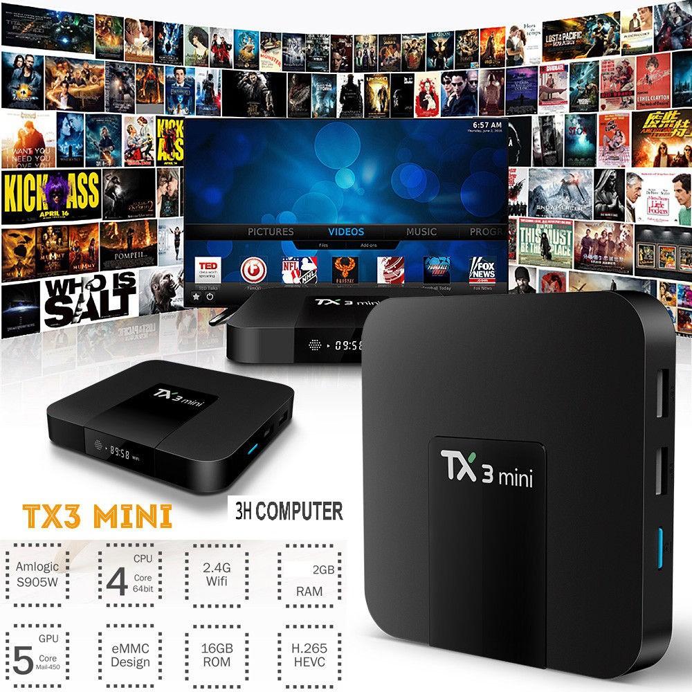 TIVI BOX TX3 RAM 2G Ổ CỨNG 16G ANROID 7.1.2 có bletooth