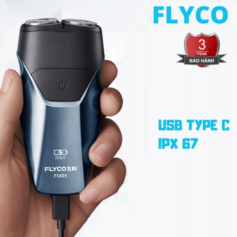 (NEW 2020) Máy Cạo Râu Nam FS887 FS888VN FS889VN Flyco 2 Lưỡi Dao Thông Minh II BH 36 Tháng - Cửa hàng Tông Đơ Cắt Tóc
