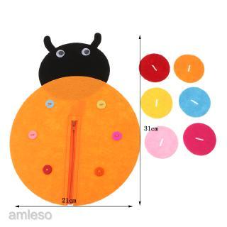 Ladybug – Kindergarten do it yourself manual fabric Educational Toy
