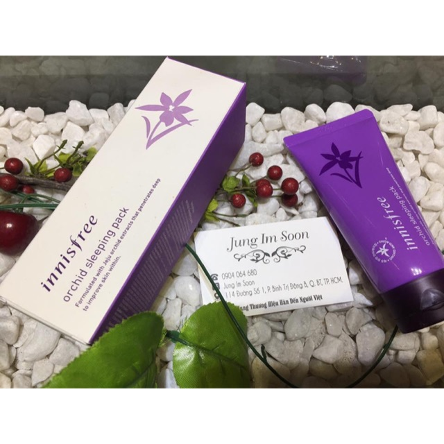 Mặt nạ ngủ Hoa Phong Lan Innisfree Orchid Sleeping Pack