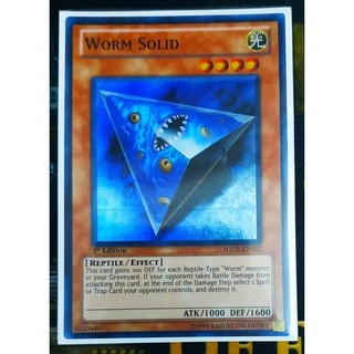 [Thẻ Yugioh] Worm Solid