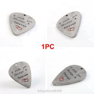 Non Slip Electric Bass Smooth Accessories Musical Instrument Letters Heart Shape Guitar Pick