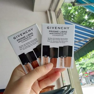 Sample kem nền Givenchy Prisme Libre Skin-Caring Glow Foundation thumbnail