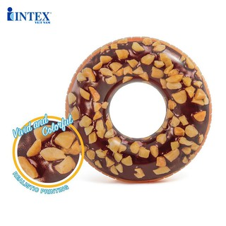Phao bơi Donut khổng lồ mẫu mới INTEX 56262