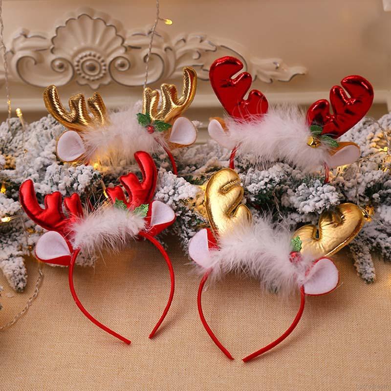 ❀Baby Cute Girls Christmas Cartoon Deer Elk Headband Headwear