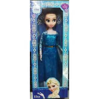 đồ chơi búp bê công chúa Elsa có khớp, búp bê bé gái cao 28cm. 337