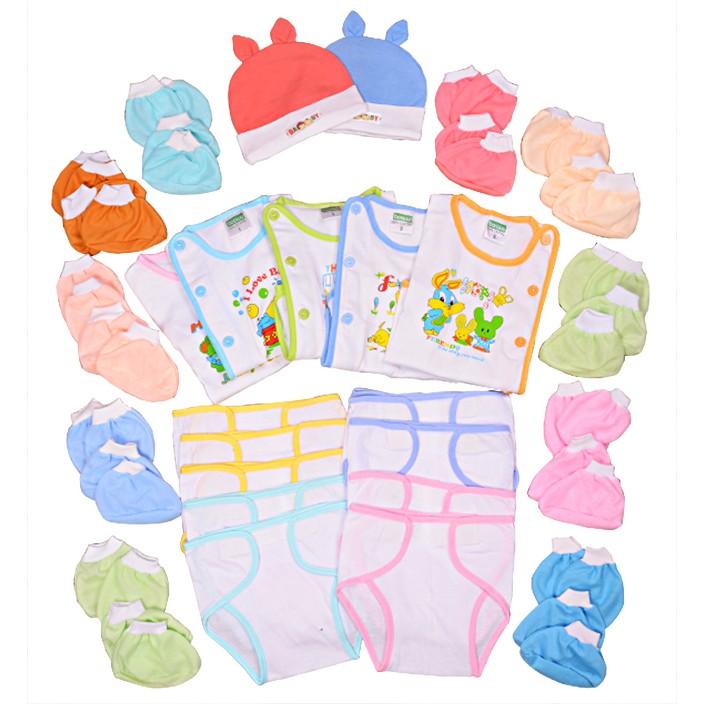 Set 37 món đồ cho bé sơ sinh từ 0 đến 3 tháng