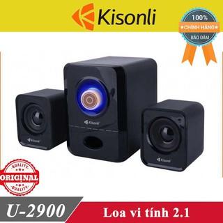 Loa vi tính Kisonli U-2900 chính hãng ♥️Freeship♥️ Loa máy tính Kisonli K-100