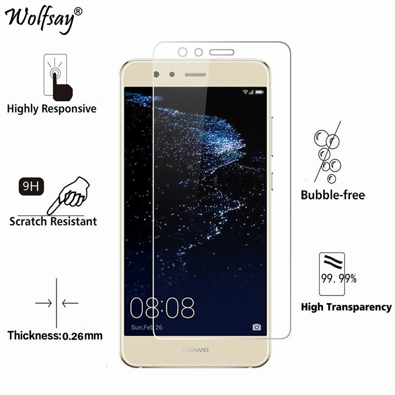 1/2pcs For Tempered Glass Huawei P10 Screen Protector Anti-Explosion Thin