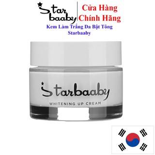 Kem dưỡng trắng da bật tông Starbaaby Mỹ Phẩm Hàn Quốc Whitening Up Cream Dưỡng trắng da mặt, body 50ml