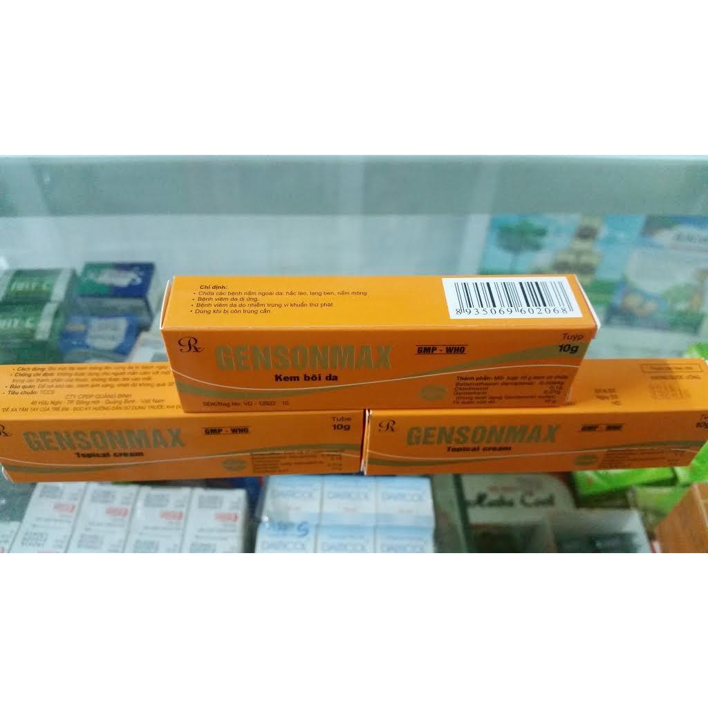 COMBO 3 TYPE GENSONMAX Chữa các bệnh nấm ngoài da.. - 2523342 , 70064610 , 322_70064610 , 29000 , COMBO-3-TYPE-GENSONMAX-Chua-cac-benh-nam-ngoai-da..-322_70064610 , shopee.vn , COMBO 3 TYPE GENSONMAX Chữa các bệnh nấm ngoài da..