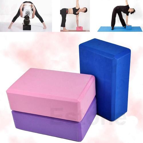 Gạch tập Yoga Cao Cấp - Xanh lam