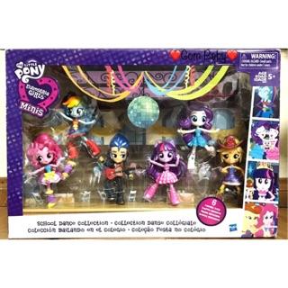 Bộ 6 Mô Hình My Little Pony Equestria Girl Fullbox