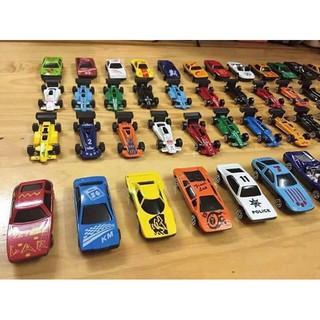 Bộ 50 ô tô đồ chơi xe đua motor wheels cho bé thỏa chí vui học
