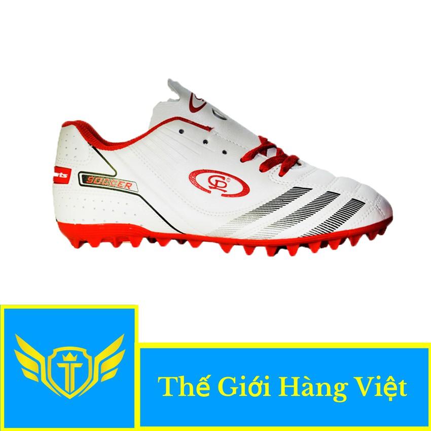 Giày Đá Bóng Sân Cỏ Nhân Tạo CP024T (Trắng)
