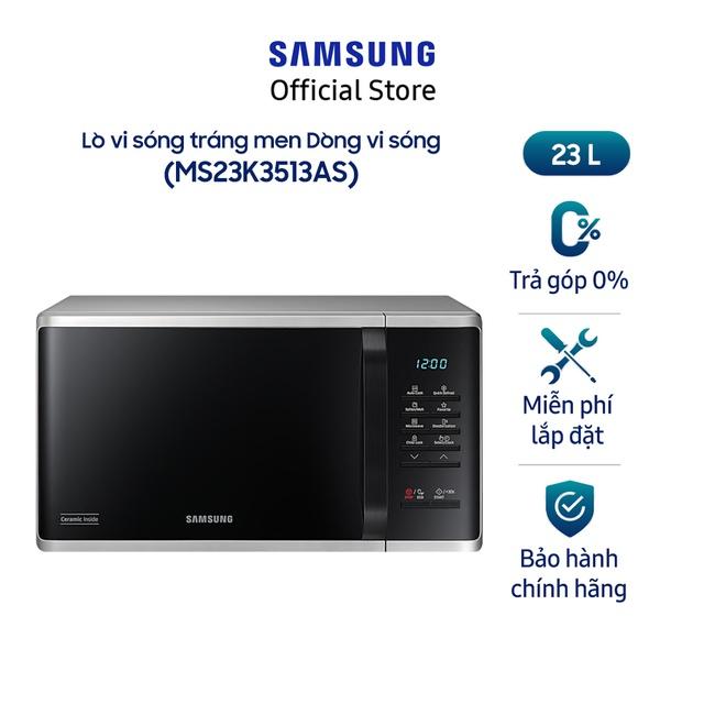 [Mã ELSAMSEP giảm 5% đơn 500K] Lò vi sóng Samsung MS23K3513AS 23L 800W