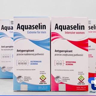 (CHÍNH HÃNG MUA 2 TẶNG 1 Lọ 20ml) Lăn Khử Mùi Aquaselin, Giảm Tiết Mồ Hôi, Khử Hôi Nách - 50ml
