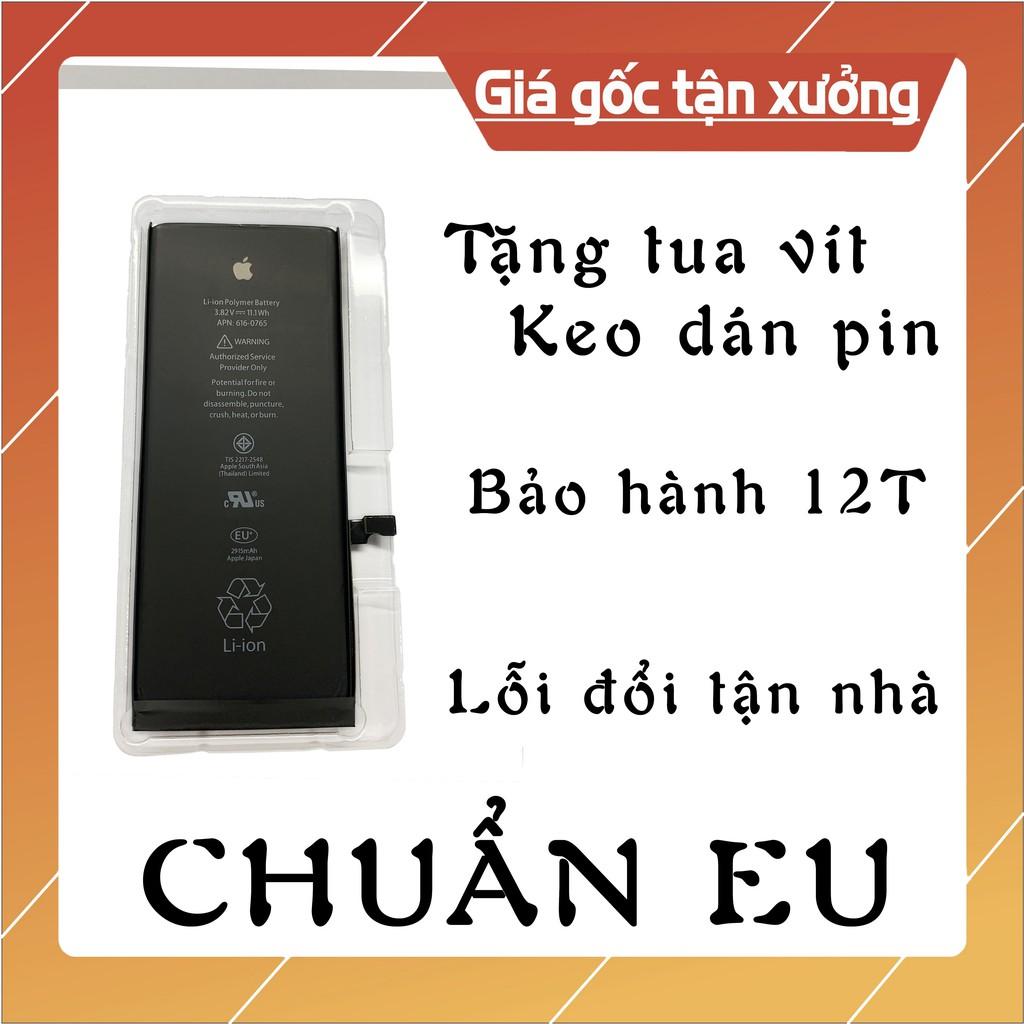 Pin IPhone EU 5 / 5s / 5c / 6 / 6S / 6Plus / 6SPlus Chuẩn Chất Lượng